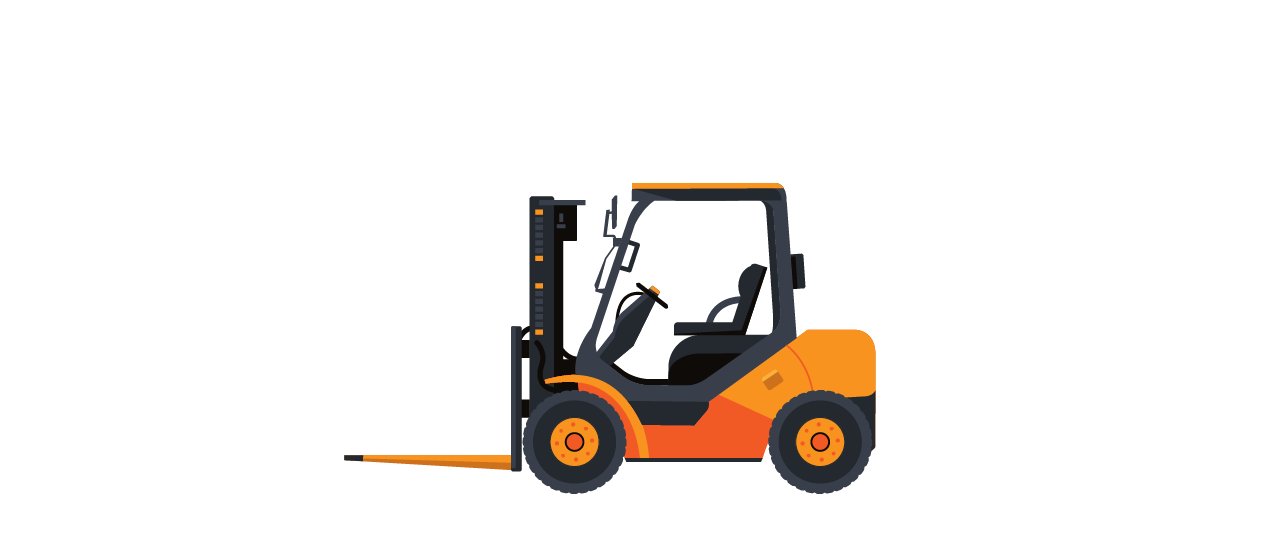 Ventac forklift orange