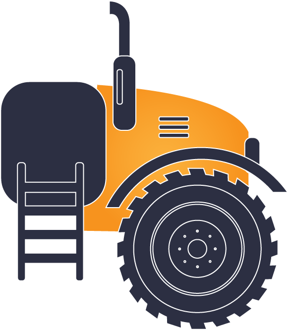 Agricultural vehicle engine