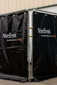 Ventacs industrial noise break barrier